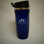 Curve-style MRU stainless tumbler - navy blue