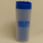MRU frosted travel tumbler