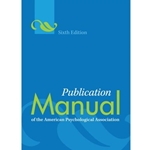 PUBLICATION MANUAL OF APA