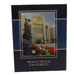 MRU notebook with full-color photo cover