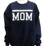 Mom crewneck sweater - navy blue