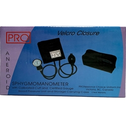 Blood-pressure cuff/sphygmomanometer - navy