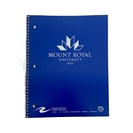 MRU Imprinted Notebook - 5 Subject