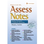 ASSESSMENT NOTES NURSING ASSESSMENT AND DIAGNOSTIC REASONING