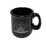 MRU ceramic camp mug - navy blue