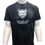WE ARE THE COUGARS MENS TECH 2.0 PRINTED SHORT SLEEVE