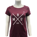 Women's Cross UA HG Armour Tee
