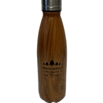 TSUNAMI WOOD GRAIN STAINLESS STEEL WATER BOTTLE