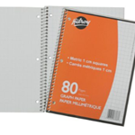 Notebook Metric 1 CM 80 PGS