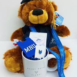 ALUMNI W/ GRAD BEAR - TRUE BLUE GIFT BOX