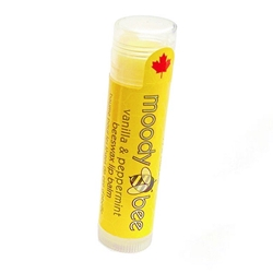 MOODY BEE LIP BALM - VANILLA & PEPPERMINT